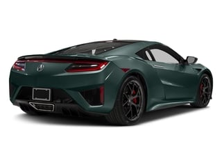 Nord Gray Metallic 2017 Acura NSX Pictures NSX Coupe 2D AWD V6 Hybrid Turbo photos rear view