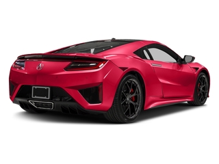 Curva Red 2017 Acura NSX Pictures NSX Coupe 2D AWD V6 Hybrid Turbo photos rear view