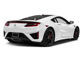 130R White 2017 Acura NSX Pictures NSX Coupe 2D AWD V6 Hybrid Turbo photos rear view