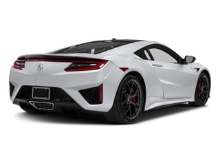 Casino White Pearl 2017 Acura NSX Pictures NSX Coupe 2D AWD V6 Hybrid Turbo photos rear view