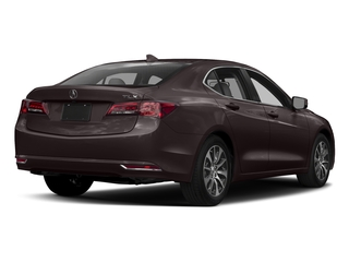 Black Copper Pearl 2017 Acura TLX Pictures TLX Sedan 4D I4 photos rear view