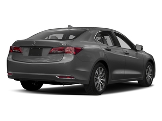 Modern Steel Metallic 2017 Acura TLX Pictures TLX Sedan 4D I4 photos rear view