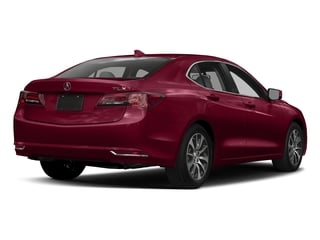 San Marino Red 2017 Acura TLX Pictures TLX FWD photos rear view