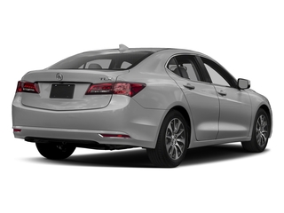 Lunar Silver Metallic 2017 Acura TLX Pictures TLX Sedan 4D I4 photos rear view