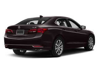 Black Copper Pearl 2017 Acura TLX Pictures TLX FWD V6 w/Technology Pkg photos rear view