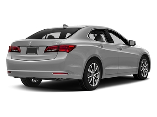 Lunar Silver Metallic 2017 Acura TLX Pictures TLX FWD V6 w/Technology Pkg photos rear view