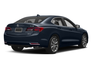 Fathom Blue Pearl 2017 Acura TLX Pictures TLX SH-AWD V6 w/Technology Pkg photos rear view