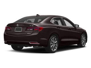 Black Copper Pearl 2017 Acura TLX Pictures TLX Sedan 4D Technology AWD V6 photos rear view