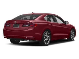 San Marino Red 2017 Acura TLX Pictures TLX Sedan 4D Technology AWD V6 photos rear view