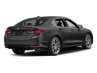 Modern Steel Metallic 2017 Acura TLX Pictures TLX Sedan 4D Advance AWD V6 photos rear view