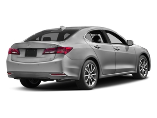 Lunar Silver Metallic 2017 Acura TLX Pictures TLX SH-AWD V6 w/Advance Pkg photos rear view