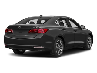 Modern Steel Metallic 2017 Acura TLX Pictures TLX Sedan 4D V6 photos rear view