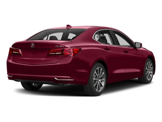 San Marino Red 2017 Acura TLX Pictures TLX Sedan 4D V6 photos rear view