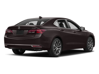 Black Copper Pearl 2017 Acura TLX Pictures TLX Sedan 4D Advance V6 photos rear view