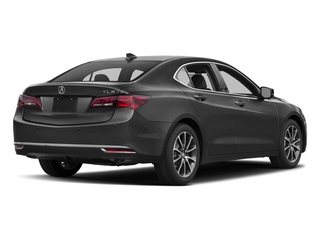 Modern Steel Metallic 2017 Acura TLX Pictures TLX Sedan 4D Advance V6 photos rear view