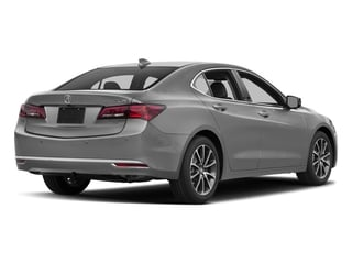 Lunar Silver Metallic 2017 Acura TLX Pictures TLX Sedan 4D Advance V6 photos rear view