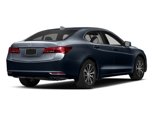Fathom Blue Pearl 2017 Acura TLX Pictures TLX Sedan 4D Technology I4 photos rear view