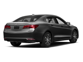 Modern Steel Metallic 2017 Acura TLX Pictures TLX Sedan 4D Technology I4 photos rear view