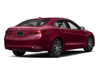 San Marino Red 2017 Acura TLX Pictures TLX Sedan 4D Technology I4 photos rear view