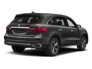 Modern Steel Metallic 2017 Acura MDX Pictures MDX Utility 4D AWD V6 photos rear view