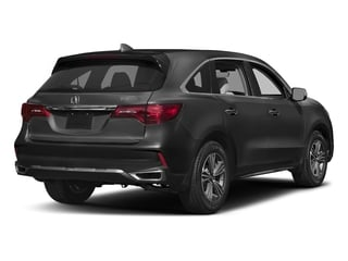 Modern Steel Metallic 2017 Acura MDX Pictures MDX Utility 4D 2WD V6 photos rear view
