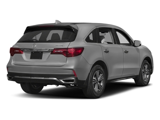 Lunar Silver Metallic 2017 Acura MDX Pictures MDX Utility 4D 2WD V6 photos rear view