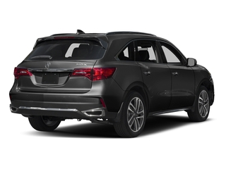 Crystal Black Pearl 2017 Acura MDX Pictures MDX Utility 4D Advance 2WD V6 photos rear view