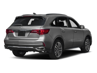 Modern Steel Metallic 2017 Acura MDX Pictures MDX Utility 4D Advance 2WD V6 photos rear view
