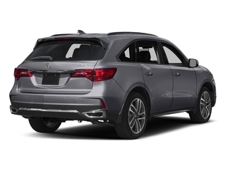 Lunar Silver Metallic 2017 Acura MDX Pictures MDX Utility 4D Advance 2WD V6 photos rear view