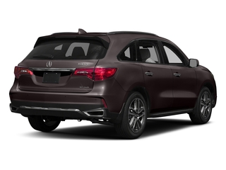 Black Copper Pearl 2017 Acura MDX Pictures MDX SH-AWD w/Advance Pkg photos rear view