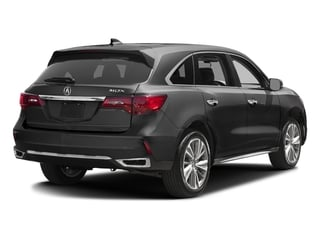 Modern Steel Metallic 2017 Acura MDX Pictures MDX Utility 4D Technology 2WD V6 photos rear view