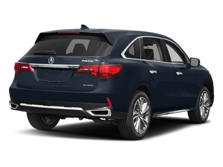 Fathom Blue Pearl 2017 Acura MDX Pictures MDX Utility 4D Technology AWD V6 photos rear view