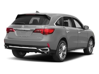 Lunar Silver Metallic 2017 Acura MDX Pictures MDX Utility 4D Technology AWD V6 photos rear view