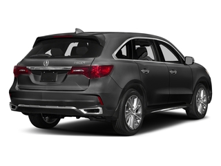 Modern Steel Metallic 2017 Acura MDX Pictures MDX Utility 4D Technology DVD 2WD V6 photos rear view