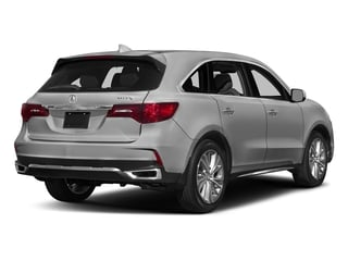 Lunar Silver Metallic 2017 Acura MDX Pictures MDX Utility 4D Technology DVD 2WD V6 photos rear view