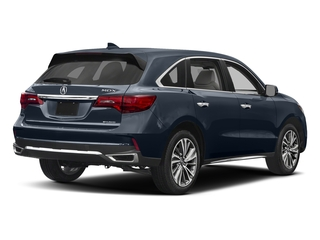 Fathom Blue Pearl 2017 Acura MDX Pictures MDX Utility 4D Technology DVD AWD V6 photos rear view