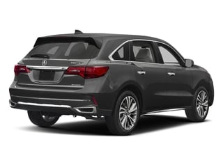 Modern Steel Metallic 2017 Acura MDX Pictures MDX Utility 4D Technology DVD AWD V6 photos rear view