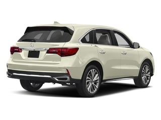 White Diamond Pearl 2017 Acura MDX Pictures MDX Utility 4D Technology DVD AWD V6 photos rear view