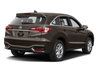 Kona Coffee Metallic 2017 Acura RDX Pictures RDX Utility 4D Technology AWD V6 photos rear view