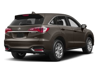 Kona Coffee Metallic 2017 Acura RDX Pictures RDX Utility 4D AWD V6 photos rear view