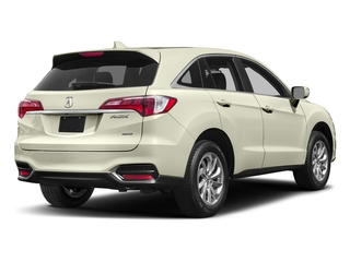 White Diamond Pearl 2017 Acura RDX Pictures RDX AWD photos rear view