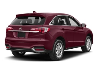 Basque Red Pearl II 2017 Acura RDX Pictures RDX Utility 4D Technology 2WD V6 photos rear view