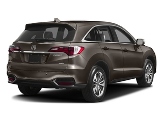 Kona Coffee Metallic 2017 Acura RDX Pictures RDX Utility 4D Advance AWD V6 photos rear view