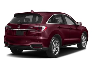 Basque Red Pearl II 2017 Acura RDX Pictures RDX Utility 4D Advance AWD V6 photos rear view