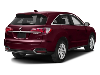 Basque Red Pearl II 2017 Acura RDX Pictures RDX AWD w/AcuraWatch Plus photos rear view