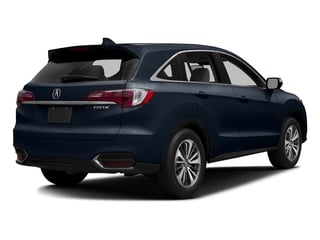 Fathom Blue Pearl 2017 Acura RDX Pictures RDX Utility 4D Advance 2WD V6 photos rear view