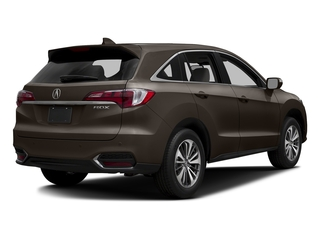 Kona Coffee Metallic 2017 Acura RDX Pictures RDX Utility 4D Advance 2WD V6 photos rear view