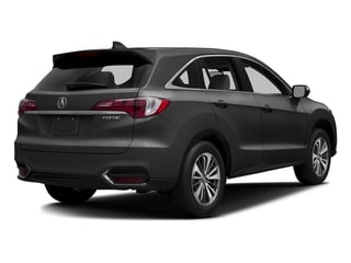 Modern Steel Metallic 2017 Acura RDX Pictures RDX Utility 4D Advance 2WD V6 photos rear view