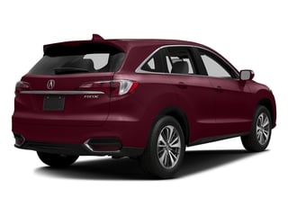 Basque Red Pearl II 2017 Acura RDX Pictures RDX Utility 4D Advance 2WD V6 photos rear view
