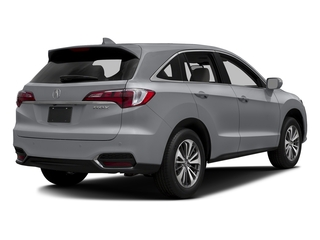 Lunar Silver Metallic 2017 Acura RDX Pictures RDX Utility 4D Advance 2WD V6 photos rear view